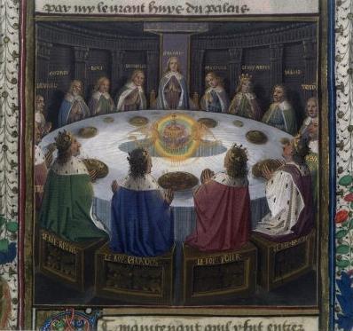 Chevaliers de la table ronde - Lancelot chevalier de la table ronde ...